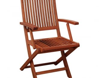 FOLDING ARM CHAIR
