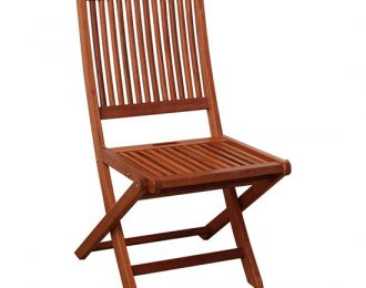 FOLDING ARMLESS CHAIR