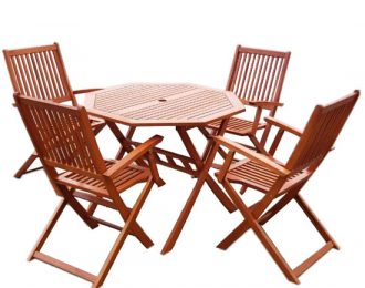 Malay 4 seater octagonal set