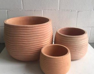Round Stripe Pot CP102 S/3